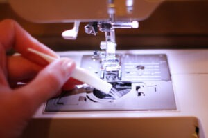 how to maintain a computerized sewing machine