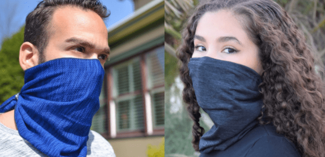 how to sew neck gaiter face mask