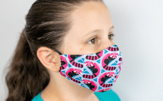 how to sew olson face mask