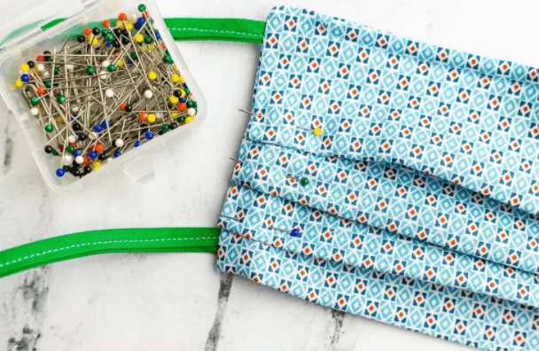 how to sew rectangular face mask